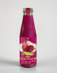 100% DRAGON FRUIT JUICE Purée