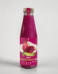 100% DRAGON FRUIT JUICE Purée